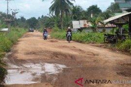 532 Kilometer Jalan di Kabupaten Paser Rusak