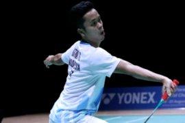 Kalahkan Lin Dan, Ginting lolos ke semifinal Swiss Terbuka