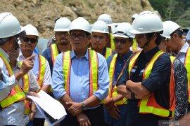 Beroperasi tepat waktu, Dirjen Gatrik tinjau proyek PLTA Batang Toru