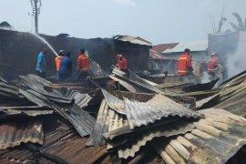 Tiga rumah warga Binjai terbakar