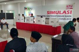KPU Sumenep gelar simulasi pemungutan dan penghitungan suara
