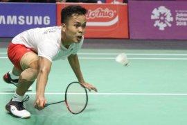 Ginting melaju ke semifinal Swiss setelah kalahkan Li Dan