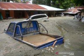 Ribuan pengungsi terdambak banjir bandang Jayapura