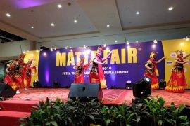 Tari Gandrung Banyuwangi pukau pengunjung pameran Matta Fair di Malaysia