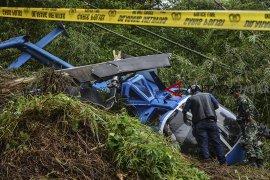 Proses identifikasi helikoptr jatuh