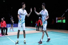 Dua wakil Indonesia tembus final Swiss Terbuka
