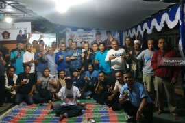 Relawan Prabowo-Sandi gelar nonton bareng Debat Cawapres