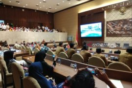 Ratusan masyarakat Bangka datangi Komisi II DPR RI minta pembentukan Bangka Utara