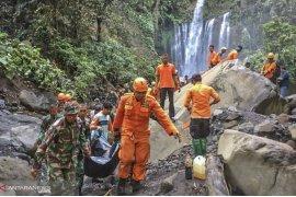 Tim SAR pastikan sudah tidak ada korban di Tiu Kelep, Lombok