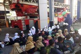 Damkar Bojonegoro jadi ajang wisata edukasi siswa
