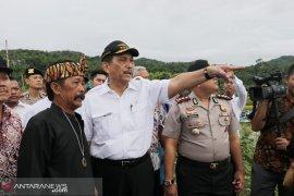 Menko Kemaritiman perintahkan pembangunan dermaga Cikahuripan yang mangkrak dilanjutkan