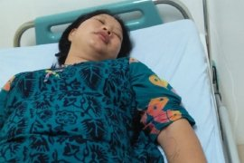 Istri wartawan di Tapteng dikeroyok sampai masuk rumah sakit