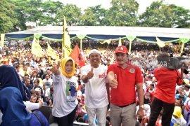 Ribuan Warga Subang Deklarasi Dukung Jokowi-Ma'ruf