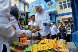 Badan POM musnahkan kosmetik ilegal di Aceh