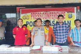 Ungkap tiga kasus pemerkosaan, Polres  Asahan bekuk 5 orang pelaku