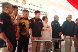 Menteri Jonan resmikan pembangunan PJU tenaga surya di Cirebon