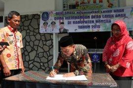 Bupati Bangka tandatangani deklarasi kabupaten layak anak