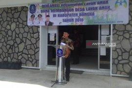 Bupati Bangka canangkan kecamatan layak anak