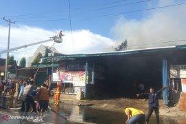 Kebakaran Tebeng dipadamkan setelah dua jam