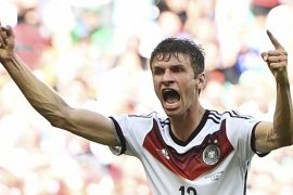 Mueller tatap masa depan setelah dikeluarkan dari timnas Jerman