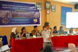 14 desa Bekasi terdampak pembangunan tol Japek II