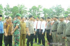 Pasukan Gabungan Batanghari apel siaga pengamanan Pemilu di Lapangan Garuda