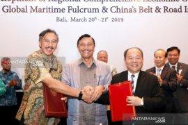 """Di Bali, Indonesia-China mulai eksekusi investasi """"Inisiatif Belt and Road"""""""
