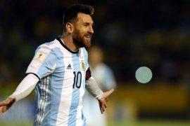 Messi ingin menuntaskan dahaga juara bersama Argentina