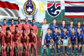 Indonesia vs Thailand, adu skuat baru pasca-AFF