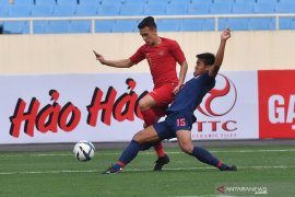 Indonesia tak berdaya lawan Thailand, skor akhir 0-4