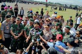 Wiranto pimpin apel kesiapan pengamanan Pemilu 2019
