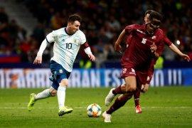 Meski diperkuat Messi, Argentina kalah dari Venezuela