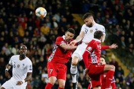 Prancis taklukkan Moldova 4-1 pada laga perdana Kualifikasi Piala Eropa