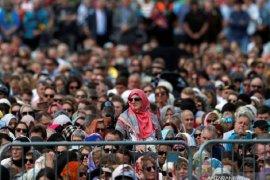 Ribuan orang di Selandia Baru berkumpul kenang korban Christchurch