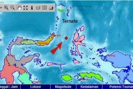 Gempa Ternate dirasakan hingga Gorontalo