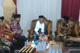 Ma'ruf Amin terima dukungan jaringan muda MA