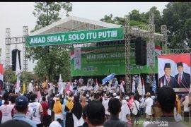 Ribuan pendukung Prabowo-Sandi gelar kampanye terbuka di Solo