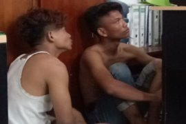 Dua remaja jambret di Tebing Tinggi babak belur dihajar massa