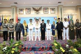 Ridho Lantik Agung-Budi Utomo sebagai Bupati-Wakil Bupati Lampung Utara