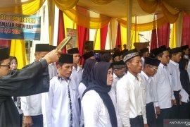 62 Anggota BPD terpilih di Kecamatan Batin XXIV dilantik