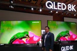 Televisi pintar Samsung 98 inchi dijual seharga Rp1,5 miliar
