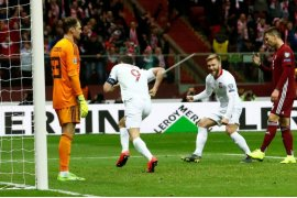 Menang 2-0 atas Latvia, Polandia puncaki Grup G