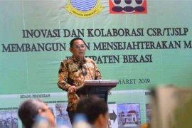 Pemkab Bekasi ajak perusahaan salurkan CSR untuk bedah kampung