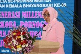 Polda Banten ajak pelajar jauhi narkoba, pornografi dan hoax
