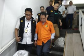 Joko Driyono ditahan Satgas di Rutan PMJ