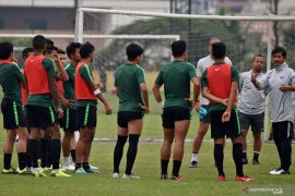 Timnas U-23 ikuti Merlion Cup 2019 di Singapura