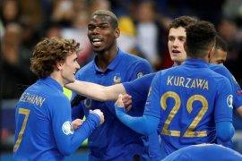 Perancis hancurkan Islandia 4-0 saat Serbia imbangi Portugal 1-1