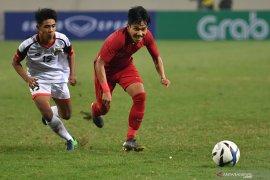 Indonesia gagal ke final Piala Merlion setelah kalah dari Thailand