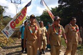 Bupati buka penilaian lomba desa tingkat kabupaten di Tanjung