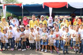 1.303 peserta berlaga di Porseni PAUD se-Kota Pontianak